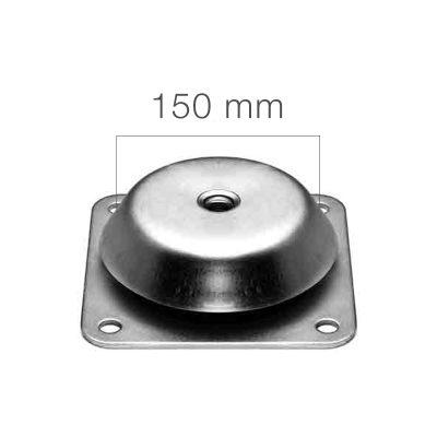 machinevoet doorslagbeveiligd viergaats 150 mm