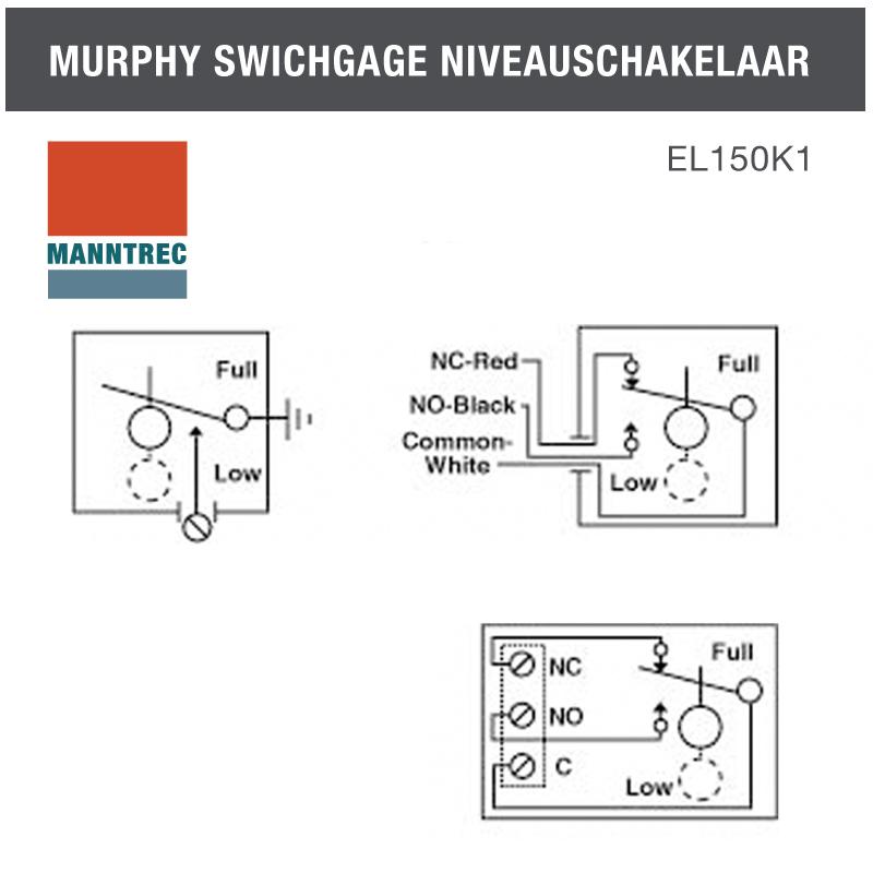 murphy switch niveau schakelaar  u00bb direct kopen bij