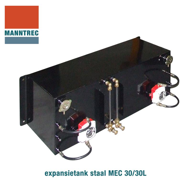 expansietank staal 30/30 liter MEC 30/30L