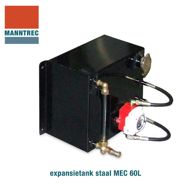 expansietank staal 60 liter MEC 60L